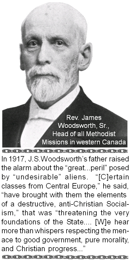 j s woodsworth Students will briefly describe the history and importance of j s woodsworth and will identify his achievements and how they affected canada's political system.