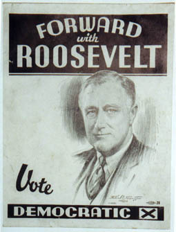 FDR Election Poster