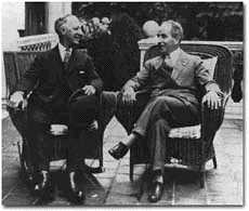 Al Smith and John W. Davis